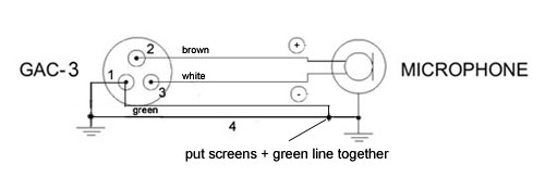 3 pin mic wiring diagram all wiring diagram Microphone Phantom Power Wiring